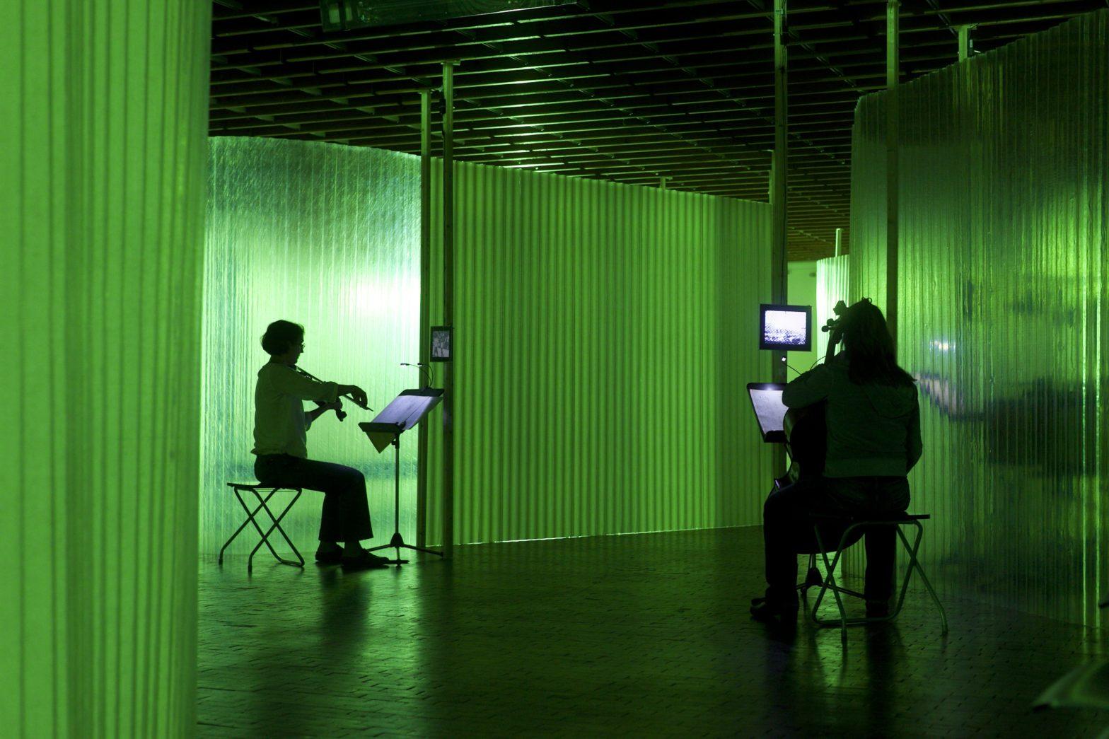 Lose Combo und Kammerensemble Neue Musik Berlin: time / zones nach John Cage in der Akademie der Kuenste, West. 29. - 30. August 2012.